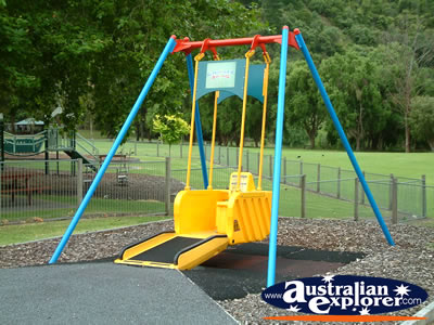 Mount Gambier Street Wheelchair Swing . . . VIEW ALL MOUNT GAMBIER PHOTOGRAPHS