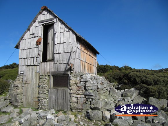 Kitchen Hut . . . VIEW ALL CRADLE MOUNTAIN PHOTOGRAPHS