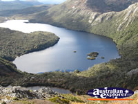 Dove Lake in Cradle Mountain