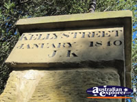 Kelly Street Sign . . . CLICK TO ENLARGE