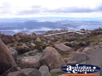 Hobart - View from Mount Wellington . . . CLICK TO ENLARGE