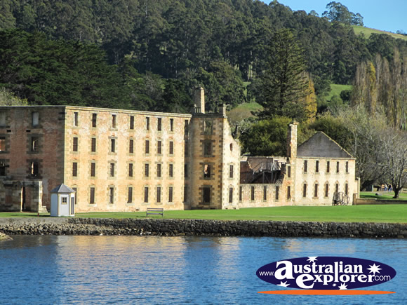 View of The Penitentiary from Mason Cove . . . VIEW ALL PORT ARTHUR PHOTOGRAPHS