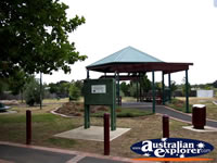 Bacchus Marsh, Gazebo . . . CLICK TO ENLARGE