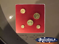 Ballarat Gold Museum Coin Display . . . CLICK TO ENLARGE