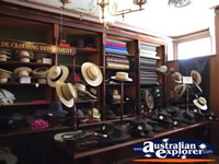 Ballarat Sovereign Hill Hat Store . . . CLICK TO ENLARGE