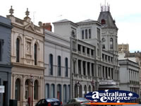 Classic Buildings on a Ballarat Street . . . CLICK TO ENLARGE