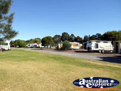 Colac Lake Caravan Park . . . CLICK TO VIEW ALL COLAC POSTCARDS