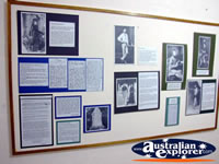 Benalla Visitors Centre Museum Display . . . CLICK TO ENLARGE
