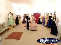Benalla Visitors Centre Museum Formal Mannequins . . . CLICK TO ENLARGE