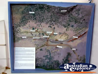 Map at Benalla Visitors Centre Museum . . . CLICK TO ENLARGE