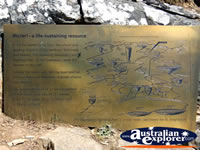 McKenzie Falls Grampians Plaque . . . CLICK TO ENLARGE