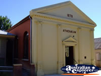 Yackandandah Athaneum (movie Theatre in Strange Bedfellows) . . . CLICK TO ENLARGE