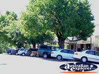 Parked Cars Down Yackandandah Street . . . CLICK TO ENLARGE