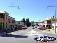 Beechworth Main Street . . . CLICK TO ENLARGE