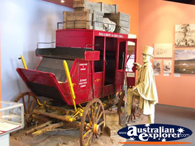 Ballarat Eureka Stockade Carriage . . . VIEW ALL BALLARAT PHOTOGRAPHS