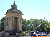 Colac Memorial - Victoria . . . CLICK TO ENLARGE