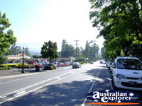 View Down Healesville Street . . . CLICK TO ENLARGE