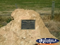 Codrington Wind Farm Plaque . . . CLICK TO ENLARGE