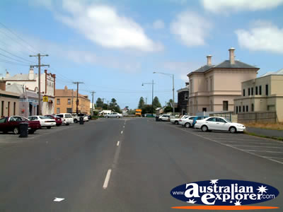 Port Fairy Street . . . CLICK TO VIEW ALL PORT FAIRY POSTCARDS