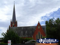 Outside View of Echuca Church . . . CLICK TO ENLARGE