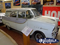 White Vintage Vehicle at Echuca Holden Museum . . . CLICK TO ENLARGE