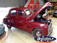 Vintage Holden Vehicle with Bonnet Up at Echuca Holden Museum . . . CLICK TO ENLARGE