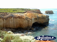 Close up View of Great Ocean Road Bay of Islands . . . CLICK TO ENLARGE