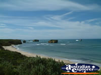 Great Ocean Road Bay of Islands Beach . . . CLICK TO ENLARGE