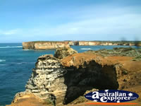 View of Great Ocean Road Bay of Islands . . . CLICK TO ENLARGE