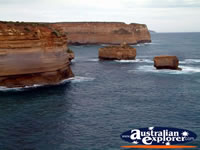 Spectacular View of Great Ocean Road Loch Ard Gorge . . . CLICK TO ENLARGE