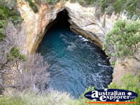 Great Ocean Road Loch Ard Gorge The Blowhole . . . CLICK TO ENLARGE
