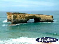 View of London Bridge in Great Ocean Road . . . CLICK TO ENLARGE