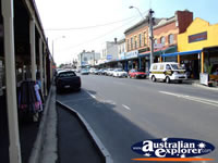 Kyneton Street and Shops . . . CLICK TO ENLARGE