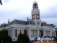 Ararat Town Hall . . . CLICK TO ENLARGE