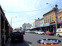 View down Kyneton Street . . . CLICK TO ENLARGE