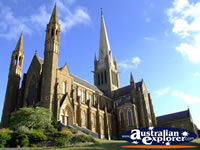 Stunning View of Bendigo Cathedral . . . CLICK TO ENLARGE
