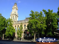 Bendigo Old Town Hall . . . CLICK TO ENLARGE