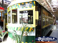 Colourful Tram in Bendigo . . . CLICK TO ENLARGE