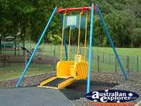 Mount Gambier Other Lake Wheelchair Swing . . . CLICK TO ENLARGE