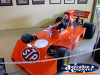 Phillip Island Circuit Museum Orange Race Car . . . CLICK TO ENLARGE