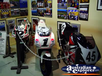 Motorbikes at Phillip Island Circuit Museum . . . CLICK TO ENLARGE