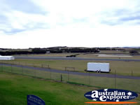 Phillip Island Race Track from Side of Track . . . CLICK TO ENLARGE