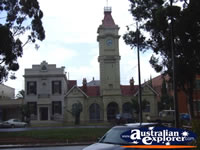 Clock Building in Mildura . . . CLICK TO ENLARGE
