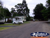 Leongatha Apex Caravan Park . . . CLICK TO ENLARGE