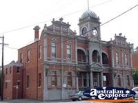 Castlemaine Town Hall . . . CLICK TO ENLARGE