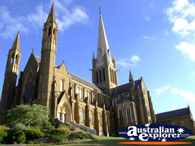 View of Bendigo Cathedral . . . VIEW ALL BENDIGO PHOTOGRAPHS
