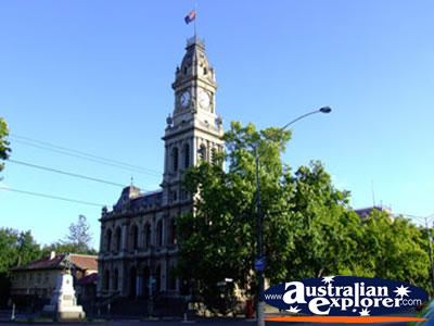 Old Town Hall in Bendigo . . . VIEW ALL BENDIGO PHOTOGRAPHS