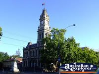 Old Town Hall in Bendigo . . . CLICK TO ENLARGE
