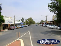 View Down Ouyen Street . . . CLICK TO ENLARGE