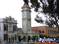 Mildura Clock . . . CLICK TO ENLARGE